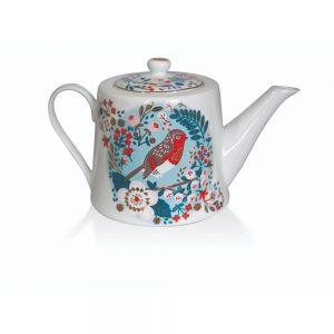 Tipperary Birdy Robin and Blue Tit Tea Pot