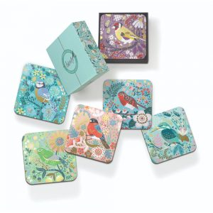 Birdy Coasters 6 Assorted Designs in Gift Box