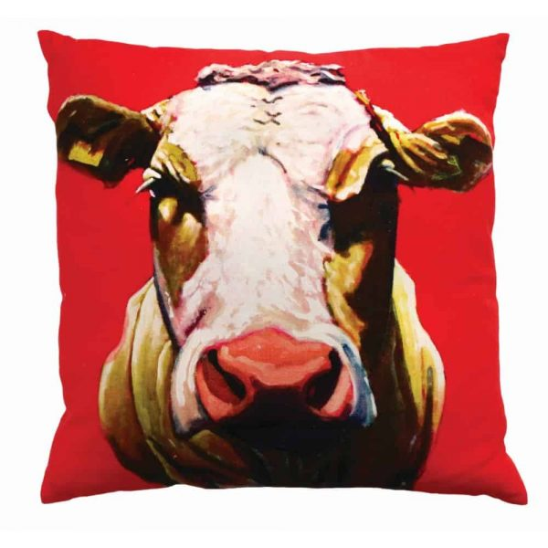 Eoin OConnor 45cm Cushion Pull The Udder One