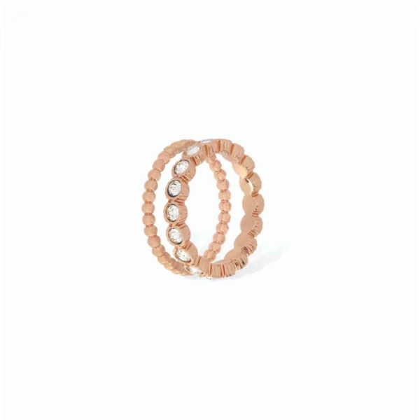 Rose Gold Pure Eternity Stacking Ring