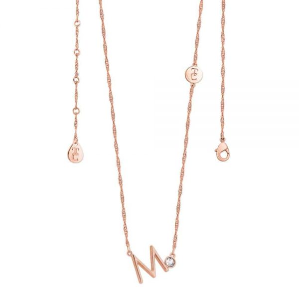 Tipperary Crystal Letter M Pendant