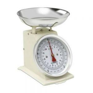 Terraillon Traditional Kitchen Scales 5KG Cream