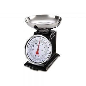 Terraillon Traditional Kithen Scales 5KG Black