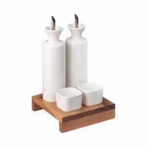 Denby James Martin 5 Piece Condiment Set