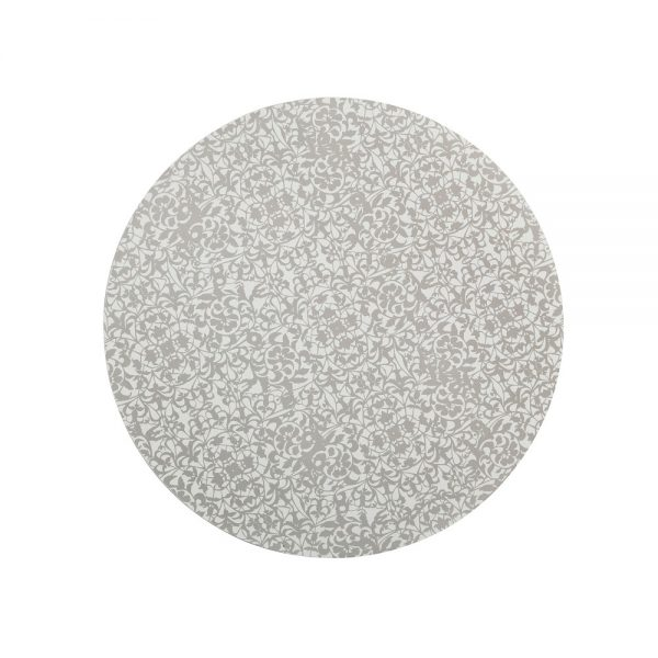 Denby Monsoon Filigree Silver Placemats Set of 4