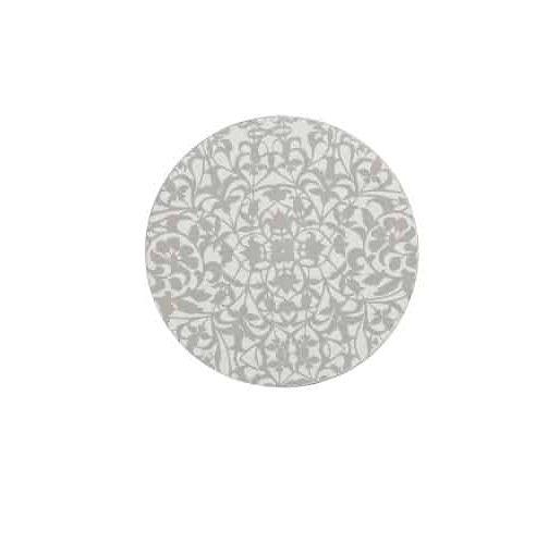 Denby Monsoon Filigree Silver Coasters Set of 4
