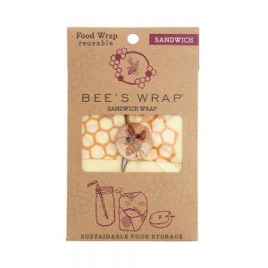 Bees Wrap Large Sandwich Wrap 33x33cm