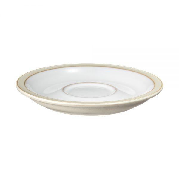 Denby Monsoon Lucille Gold Tea Saucer 17cm