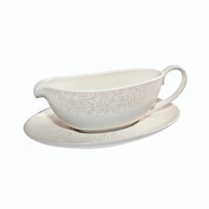Monsoon Lucille Gold Sauce Jug And Stand 0.48L