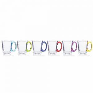 Newgrange Rainbow Mug Set 6 315cc