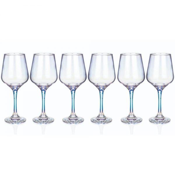 Newgrange Unicorn Lustre Wines Set 6 425cc