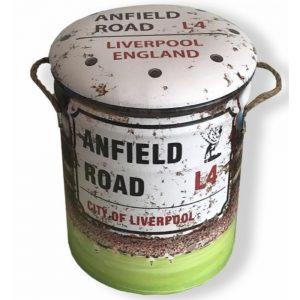 Anfield Road Metal Stool Medium 31x36cm