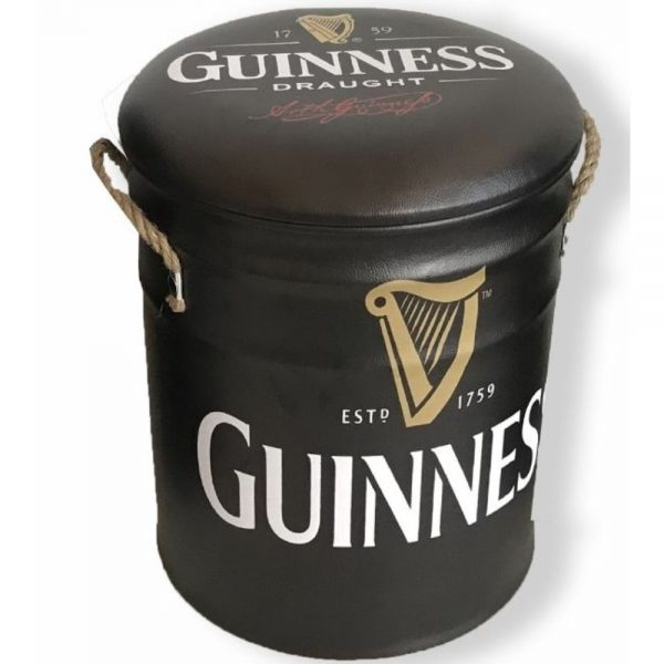Guinness Metal Stool Large 36x44cm