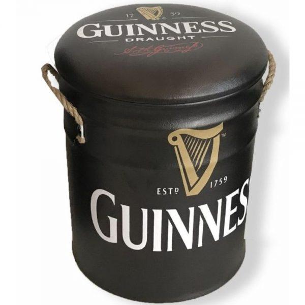 Guinness Metal Stool Medium 31x36cm