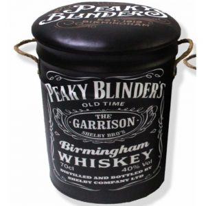 Peaky Blinders Metal Stool Small 27x32cm