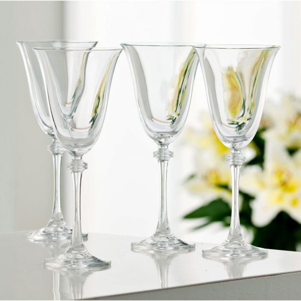 Galway Crystal Liberty Goblet Set of 4
