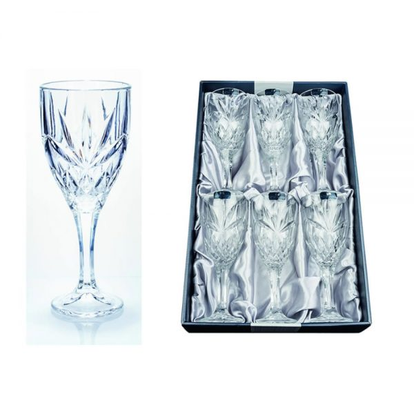 6 Adare Wine Glasses