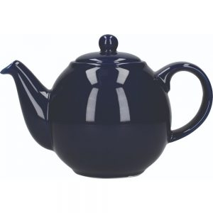 London Pottery Globe 2 Cup Teapot Cobalt Blue
