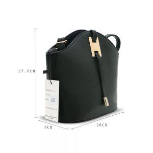 Gessy Black Handbag