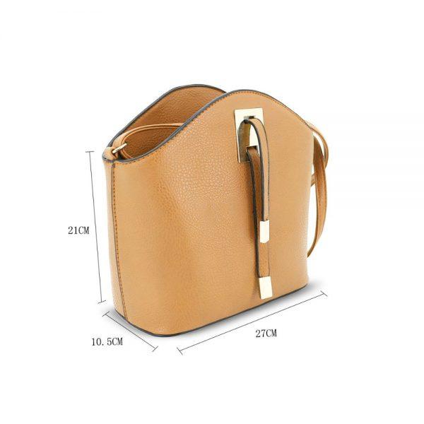 Gessy Cross Body Handbag in Brown