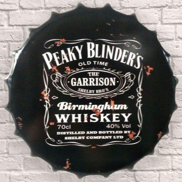 Peaky Blinders New Design Huge 40cm Bottle Top