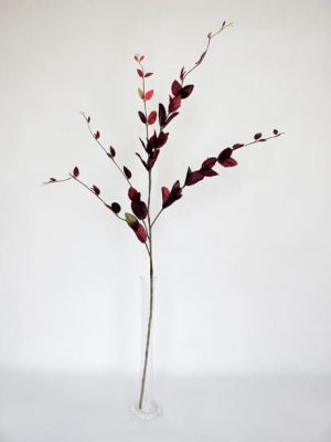 Lonicera Leaf Spray Burgundy 114cm