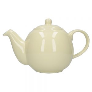 London Pottery Globe 6 Cup Teapot Ivory