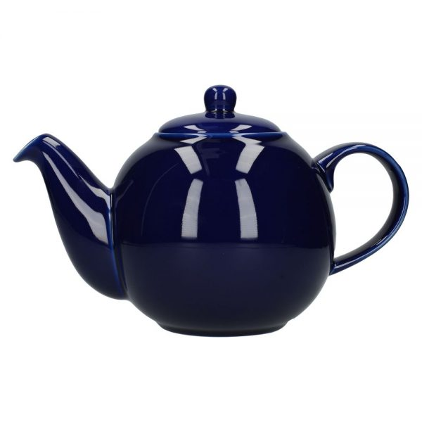 London Pottery Globe 6 Cup Teapot Cobalt Blue