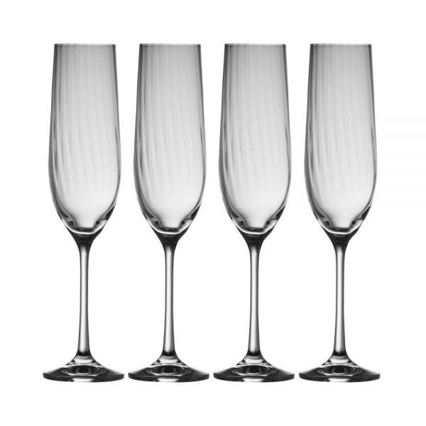 Erne Champagne Flute Set of Four