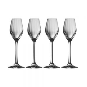 Erne Sherry or Liqueur Set of Four Glasses