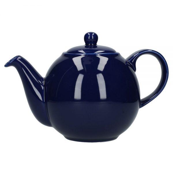London Pottery Globe 4 Cup Teapot Cobalt Blue