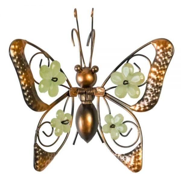 Butterfly Pot Hanger Floral Wings
