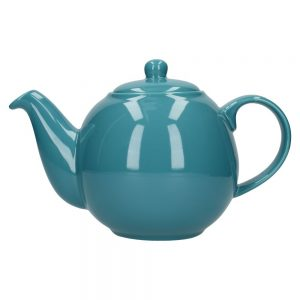 London Pottery Globe 6 Cup Teapot Aqua