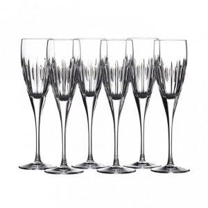 Waterford Crystal Ardan Mara Set of 6 Wine Glasses