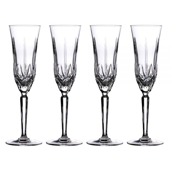 Marquis Maxwell Flute Glass Set of 4