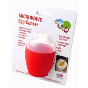 Microwave Egg Cooker Quick Easy Healthy BPA Free