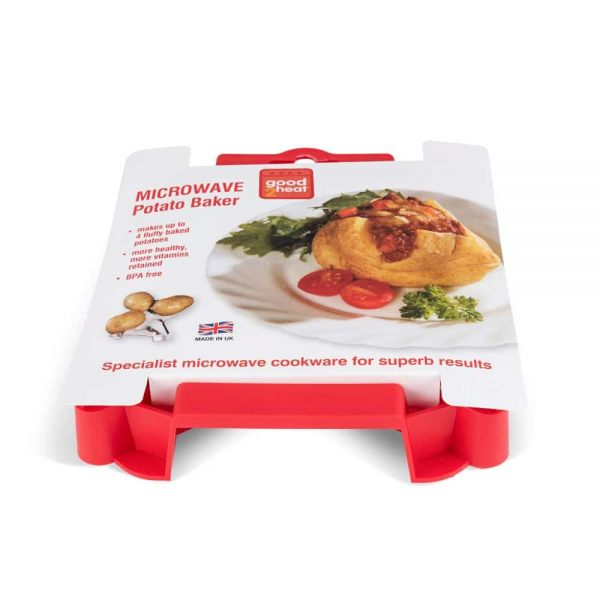 Microwave Potato Baker - Red