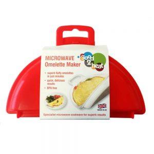 Microwave Two Egg Omelette Maker BPA Free Plastic