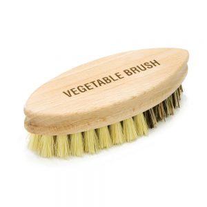 Palm Sized vegetable Brush Stiff Bristles 13x5x3.5