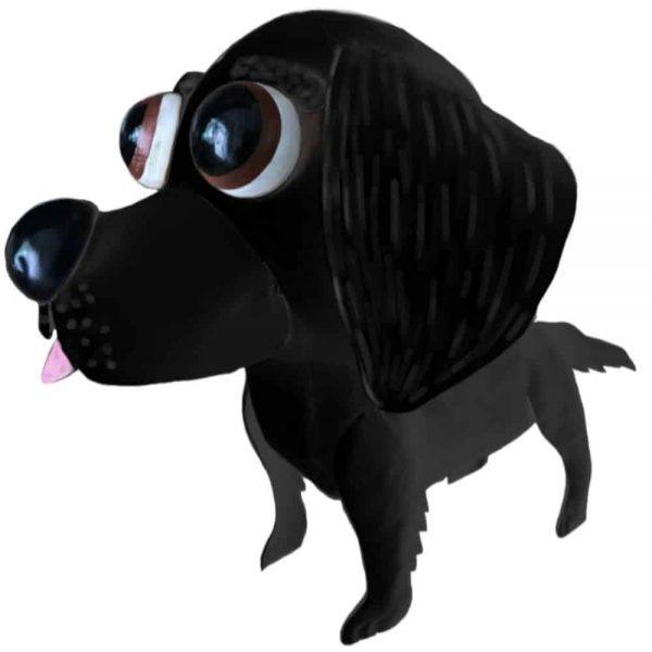 Funky Dogs Black Labrador