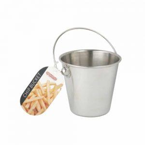 Stainless Steel Chip Bucket 9.5x6cm