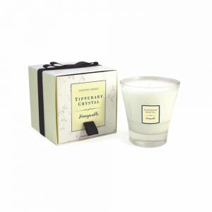 Tipperary Crystal Honeysuckle Tumbler Candle