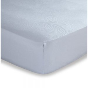 500 Thread Count Double Fitted Grey Sheet