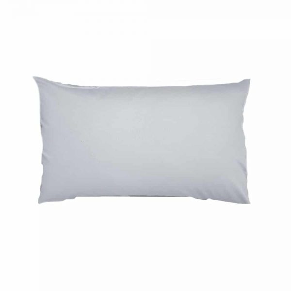 500 Thread Count Grey Housewife Pair Pillow Cases