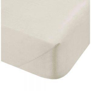 500 Thread Count King Flat Sheet Cream