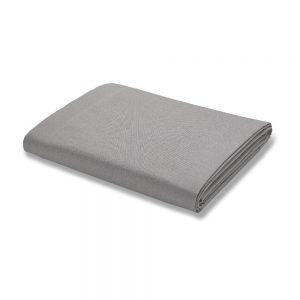 500 Thread Count Grey Flat King Sheet