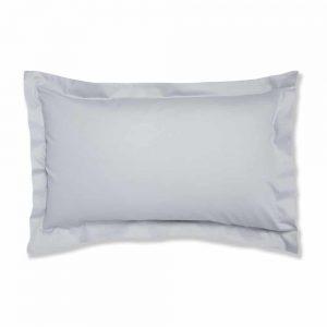 500 Thread Count Oxford Rich Grey Pillow Case