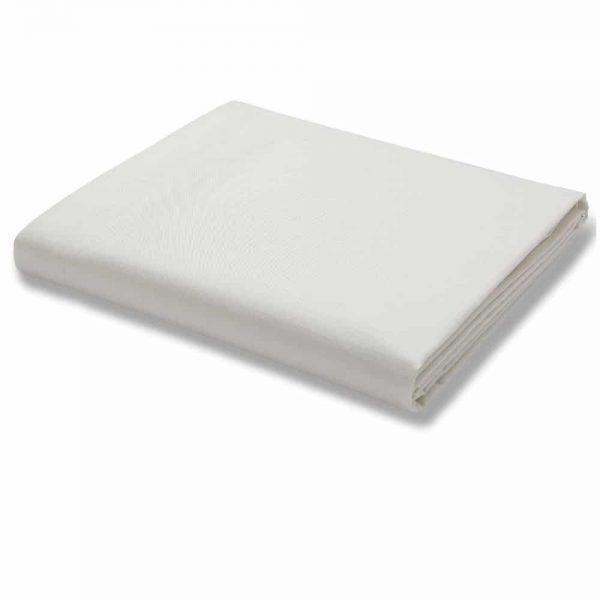 500TC Single Flat Sheet Cream