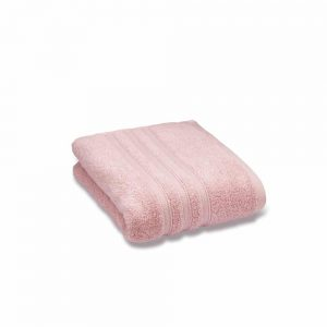 Zero Twist Pink Bath Sheet