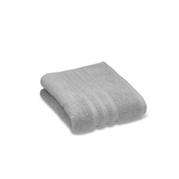 Zero Twist Silver Hand Towel